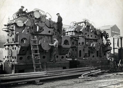 Kincaids Reduction gears for a steam turbine