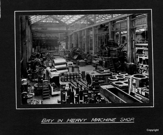 Bay in Heavy Machine Shop