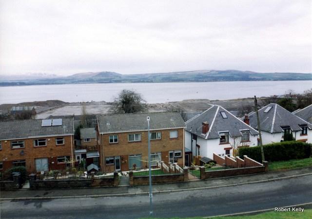 Kingston looking east after demolition