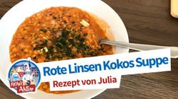 Rote Linsen Kokos Suppe