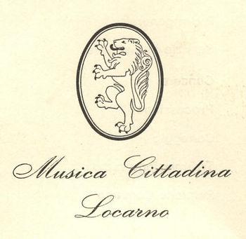 Antico Logo della Musica Cittadina di Locarno