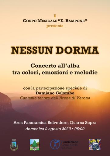 concert-poster at dawn