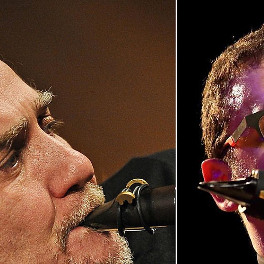 "Concert ""Escenas en duo"" Javier Girotto - saxophones, quena and electronics - David Brutti - saxophones and electronics"