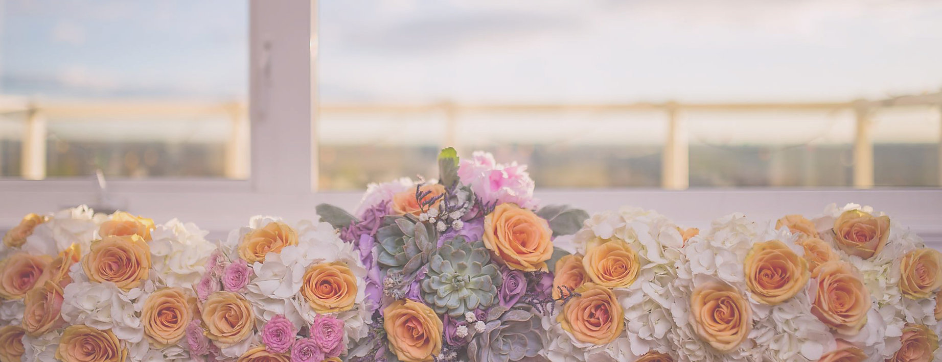 Bridal bouquet package for this beautiful pink, purple,peach, succuleny, roses, hydrangea, peony, contemporary themed wedding