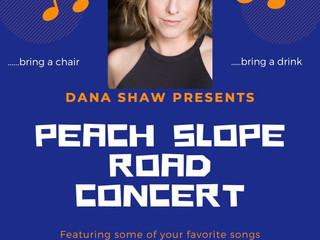 Dana performed a live street concert!