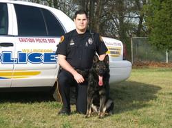 K-9 Shadow & Officer Michener