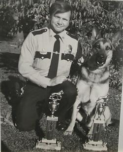 K-9 Hansel & Officer Mehalchik