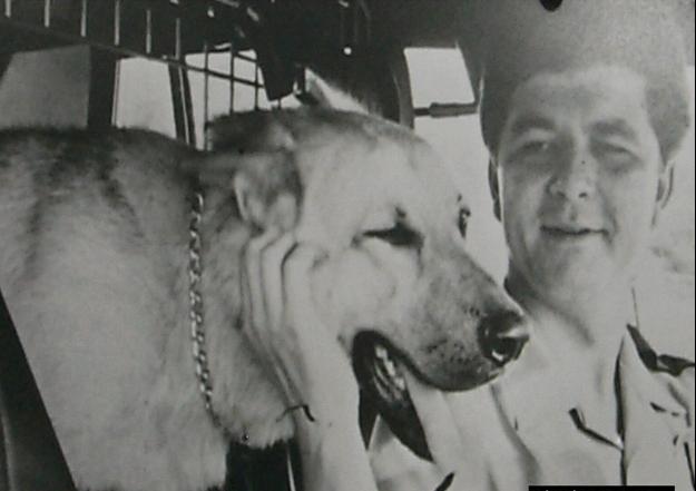 K-9 Caesar & Officer Anderson