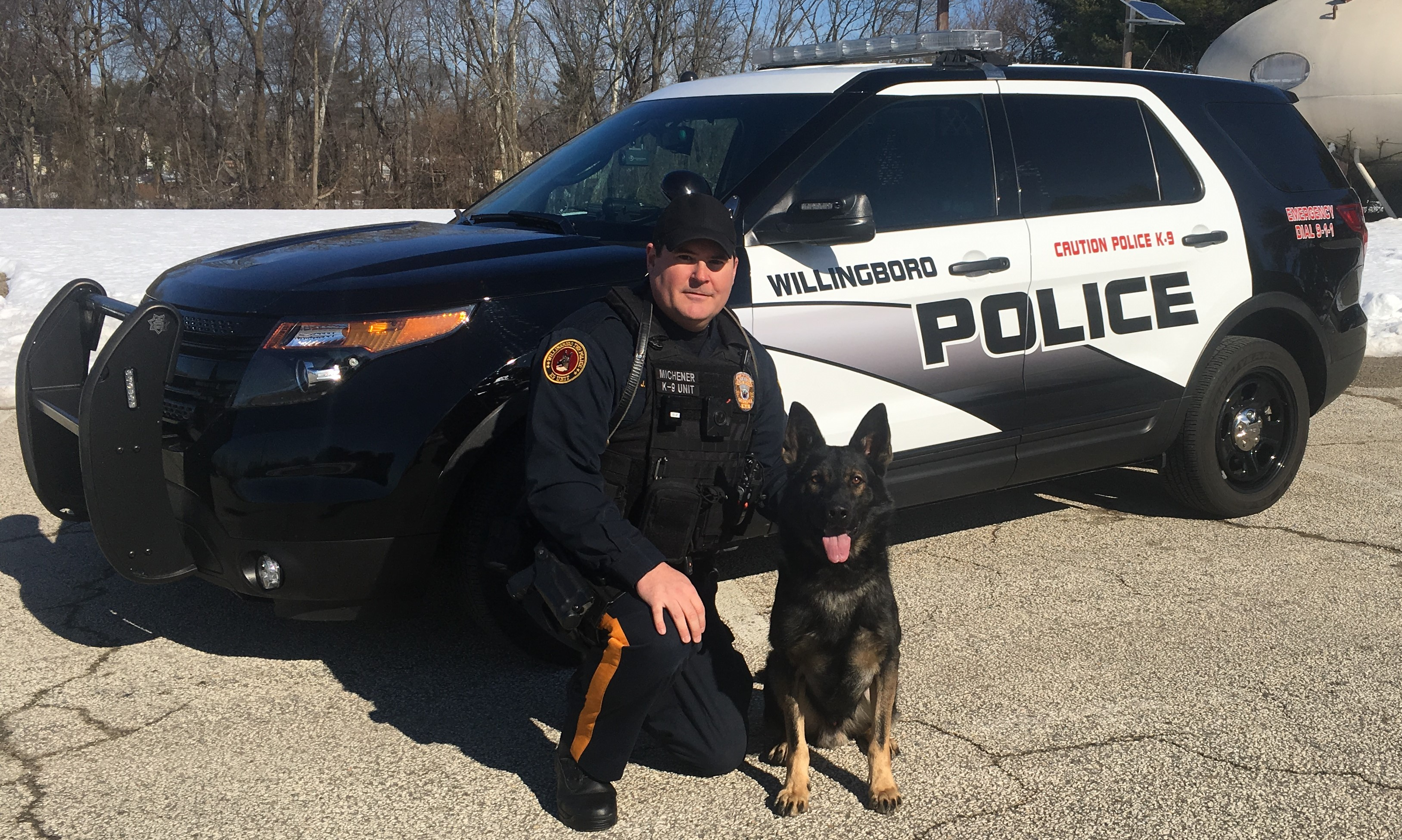 K-9 Ricky & Officer Michener