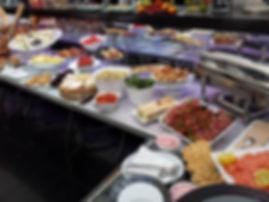 brunch buffet fron chef david fricaud