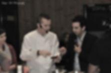animation with chef david fricaud