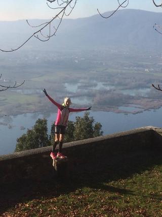 La vincitrice ASSOLUTA di Terre di Siena Ultramarathon