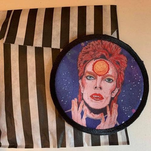 David Bowie /Ziggie Stardust 9cm patch
