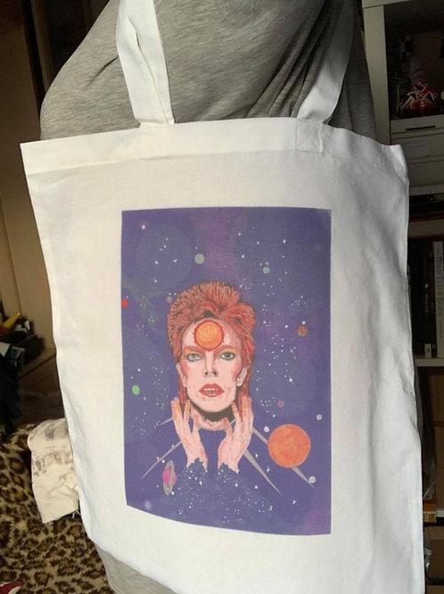 David Bowie/ Ziggy Stardust tote bag