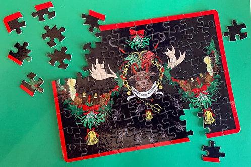 Gruss Vom Krampus Jigsaw puzzle