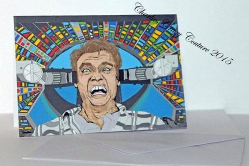 Total Recall / Arnold Schwarzenegger a6 card