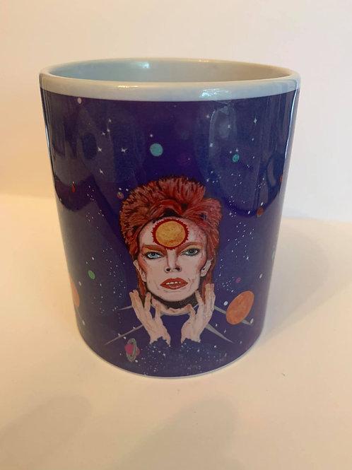 David Bowie /Ziggy Stardust ceramic mug