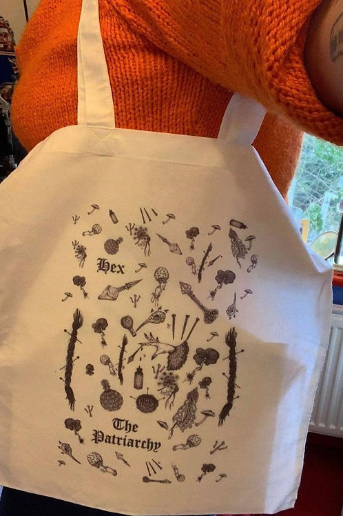 Hex the Patriarchy Tote bag
