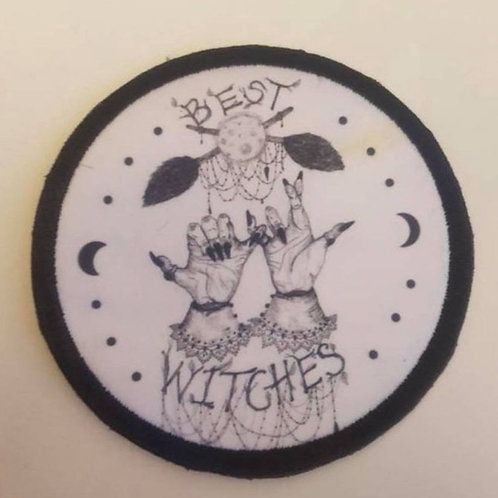 Best witches patch (9cm) sew on patch/ witchcraft patches occult patches /femini