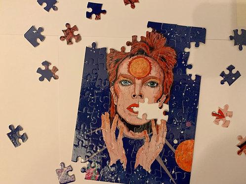 David Bowie/ Ziggy Stardust jigsaw puzzle