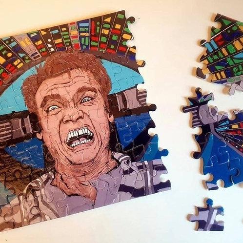 Total recall Arnold Schwarzenegger jigsaw puzzle