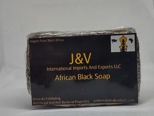 8 oz African Black Soap