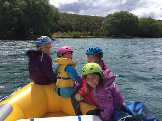 Dads and daughters weekend o/n rafting on Clutha