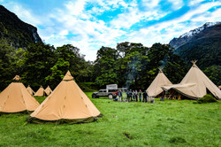 Corporate Glamping Event