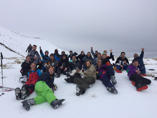 "University of Canterbury – ""Go Canterbury"" – Ski weekend to lake Tekapo"