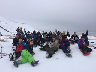 """University of Canterbury – """"Go Canterbury"""" – Ski weekend to lake Tekapo"""