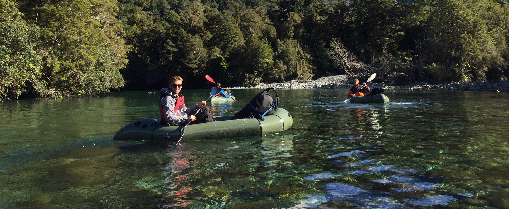 Hollyford pack raft