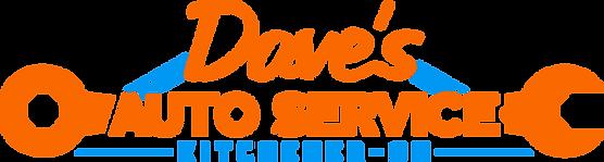 Dave's Auto Service Kitchener Logo