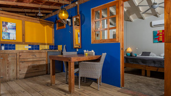 porch and bedroom studio