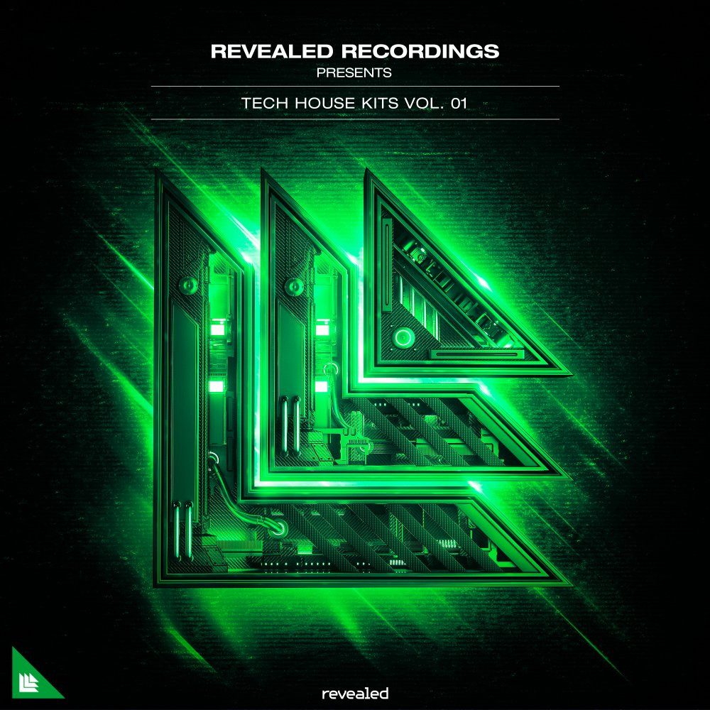 download for free Revealed Recordings Revealed Tech House Kits Vol. 1 WAV MIDI