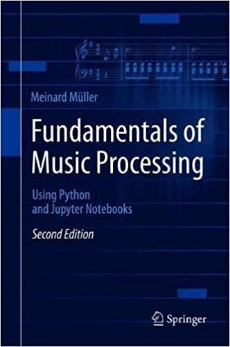 Fundamentals of Music Processing: Using Python & Jupyter Notebooks, 2nd Edition PDF