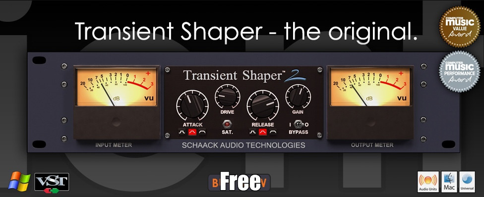 Schaack Audio Technologies - Transient Shaper v2.6.0 free download