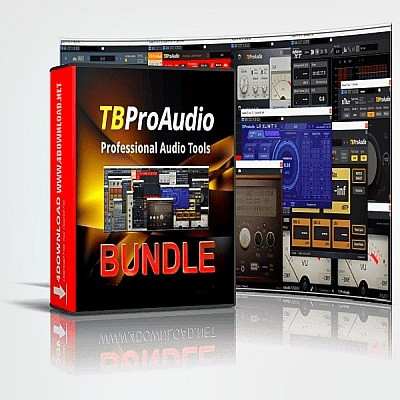 free TBProAudio - bundle 2021.1 STANDALONE, VST3, RTAS, AAX x86 x64