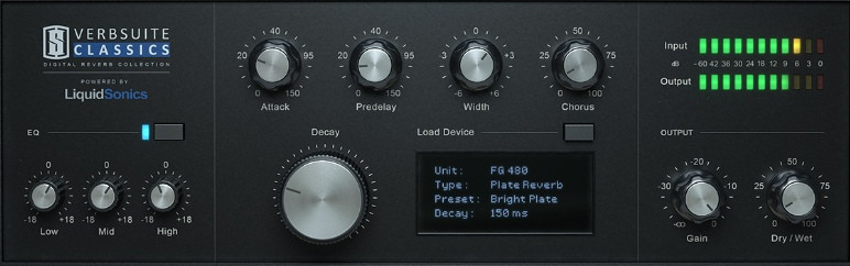 Slate Digital - VerbSuite Classics v1.0.13.1 VST / VST3 / AAX x64 R2R Free Download
