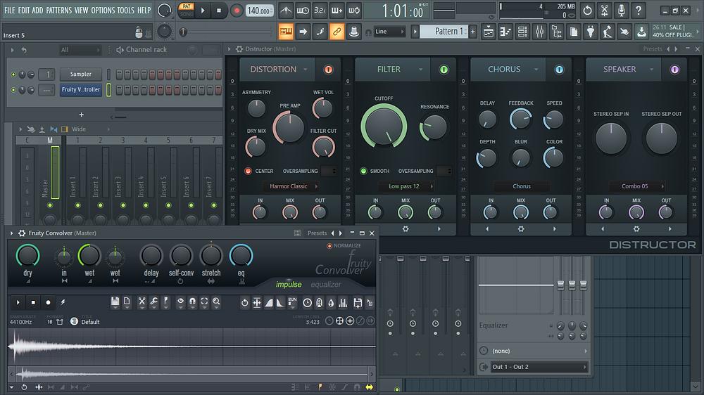 fl studio12, fl studio 20