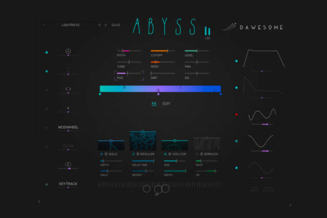 download for free Tracktion Software Dawesome Abyss v1.0.0 MacOS