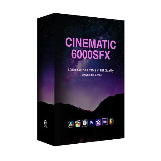 Cinematic SFX Ultimate Bundle Pack WAV