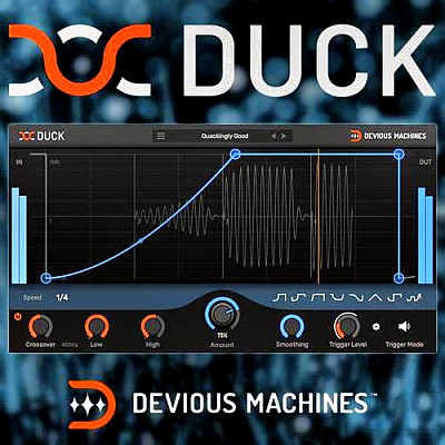 download for free  Devious Machines - Duck 1.1.4 VST, VST3, AAX x86 x64
