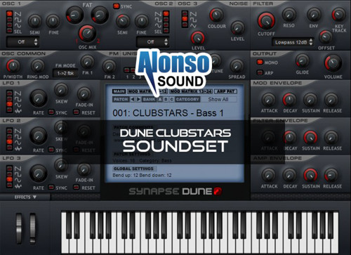 download for free Alonso Sound - Dune Clubstars Soundset
