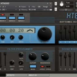 free Rhythmic Robot Audio - HT 6000