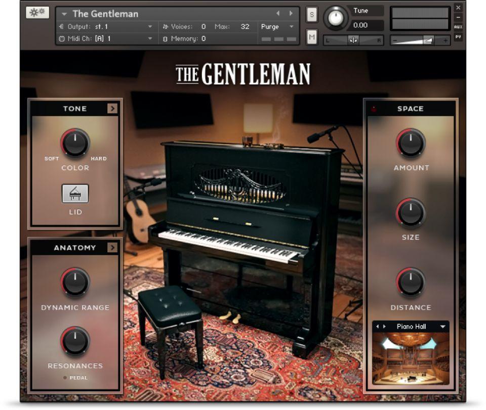 download for free Native instruments - The Gentleman (KONTAKT)