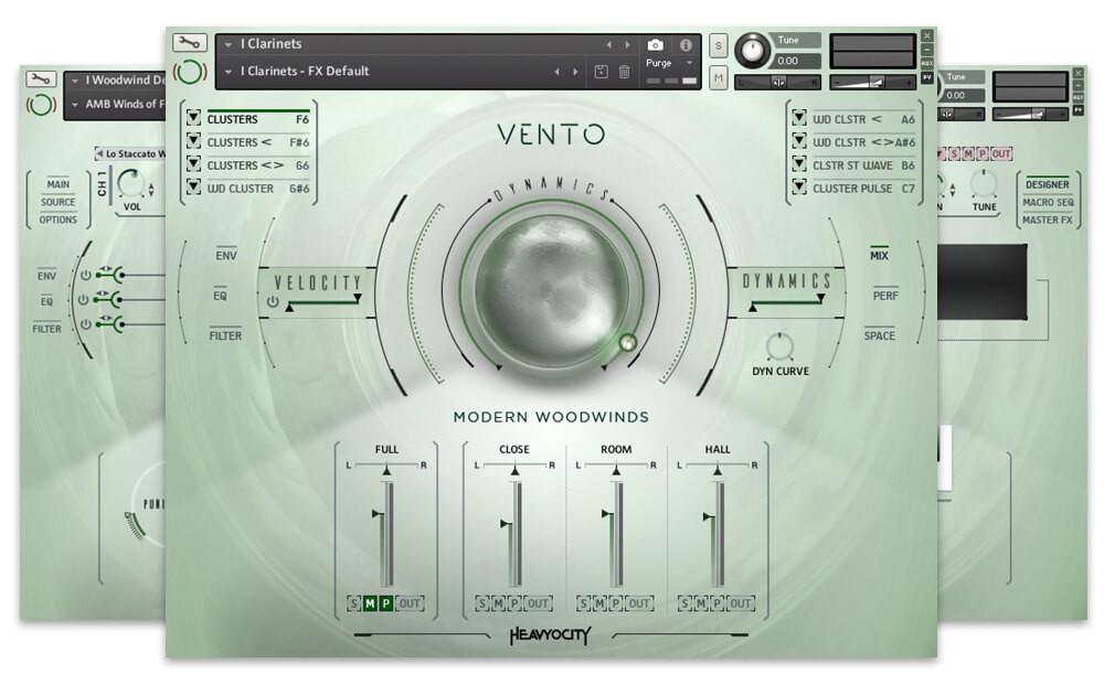 Heavyocity - VENTO: Modern Woodwinds (KONTAKT) Free Download