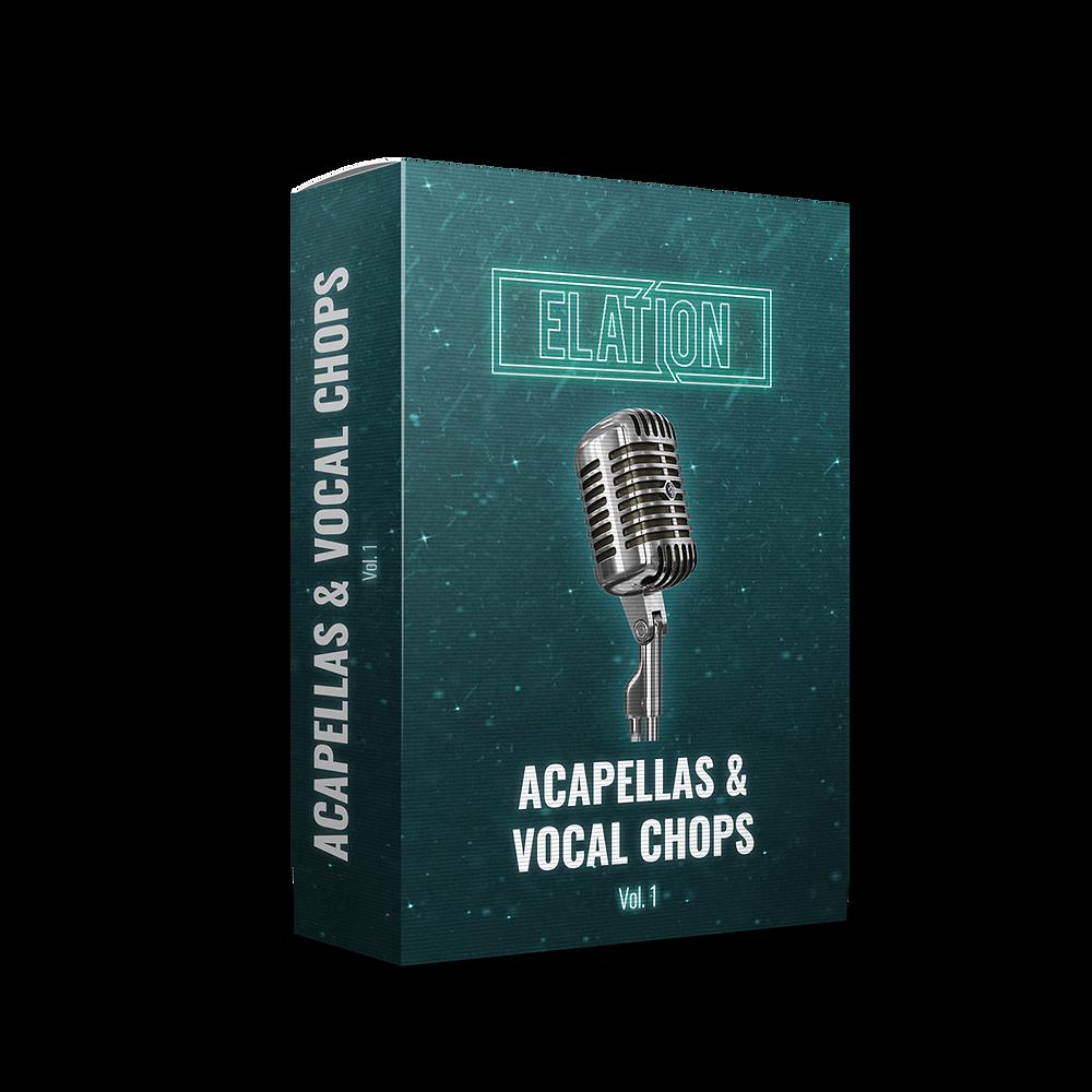 download for free Elation Sounds - Acapellas & Vocal Chops Vol. 1 (MP3)