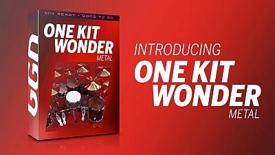 free Getgood Drums One Kit Wonder: Metal KONTAKT