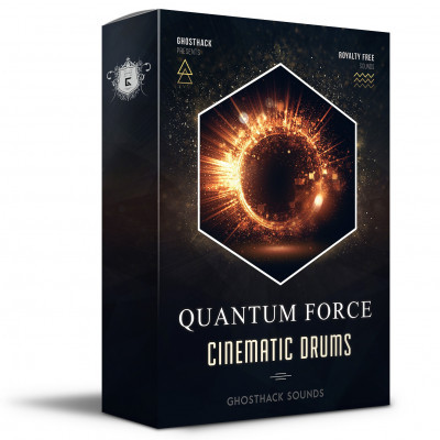 free Ghosthack - Quantum Force Cinematic Drums (WAV)