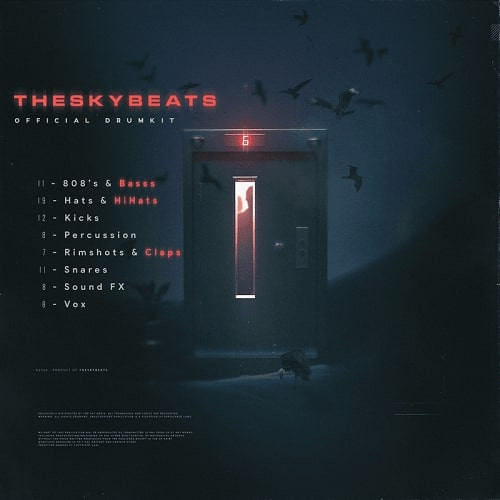 free download Theskybeats Official Drumkit WAV